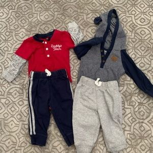 Baby Boy Outfit Bundle (6 Months)